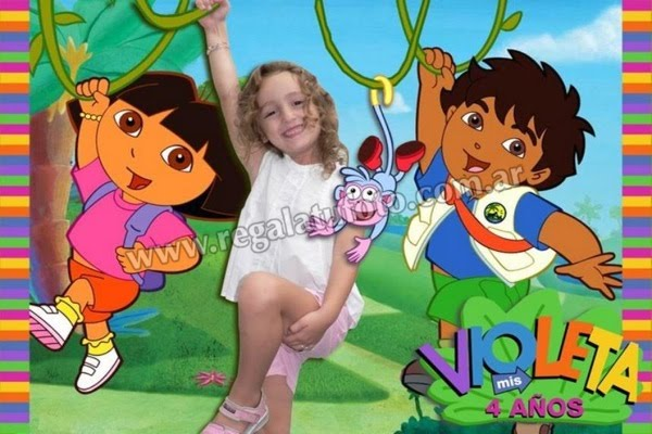 Dora La Exploradora - CU0010 | Regalá tu foto