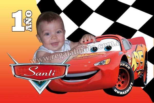 Modelos De Tarjetas De Cumpleaño Infantil De Cars Imagui