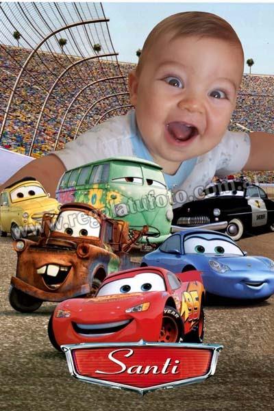 Cars Cu0094 Regalá Tu Foto