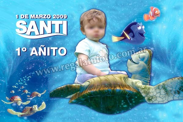 Nemo Cu0085 Regalá Tu Foto