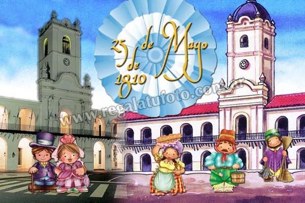 25 de mayo gr0445 regal tu foto Decoracion 25 de mayo nivel inicial