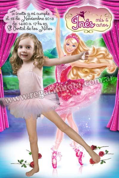 Barbie Bailarina Cu0700 Regala Tu Foto