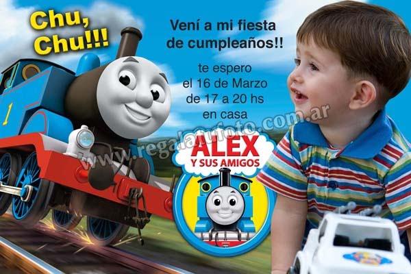 Thomas Y Sus Amigos Cu0750 Regalá Tu Foto